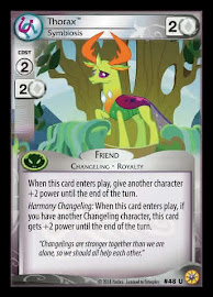 My Little Pony Thorax, Symbiosis Friends Forever CCG Card