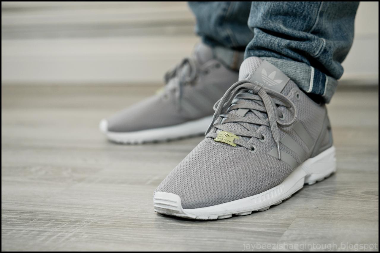 buy popular 4a1a5 3d3fe Adidas Zx Flux Grey On Feet wallbank-lfc.co.uk
