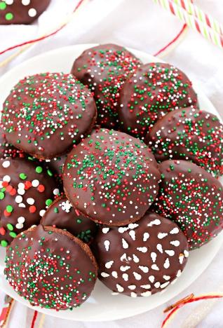 TRIPLE CHOCOLATE SUGAR COOKIES