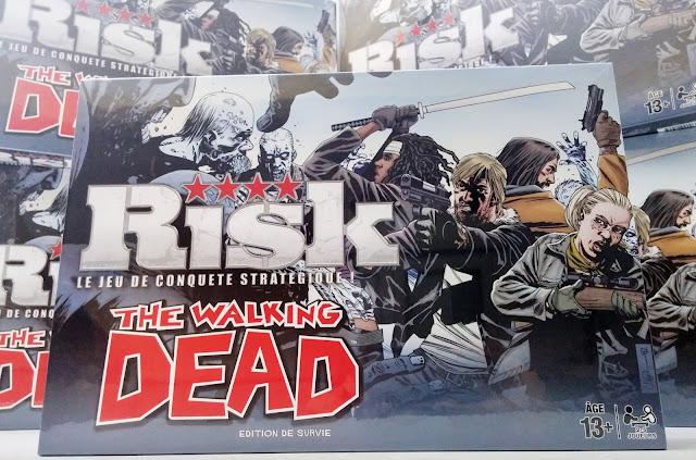 photo des Risk The Walking Dead édition de survie