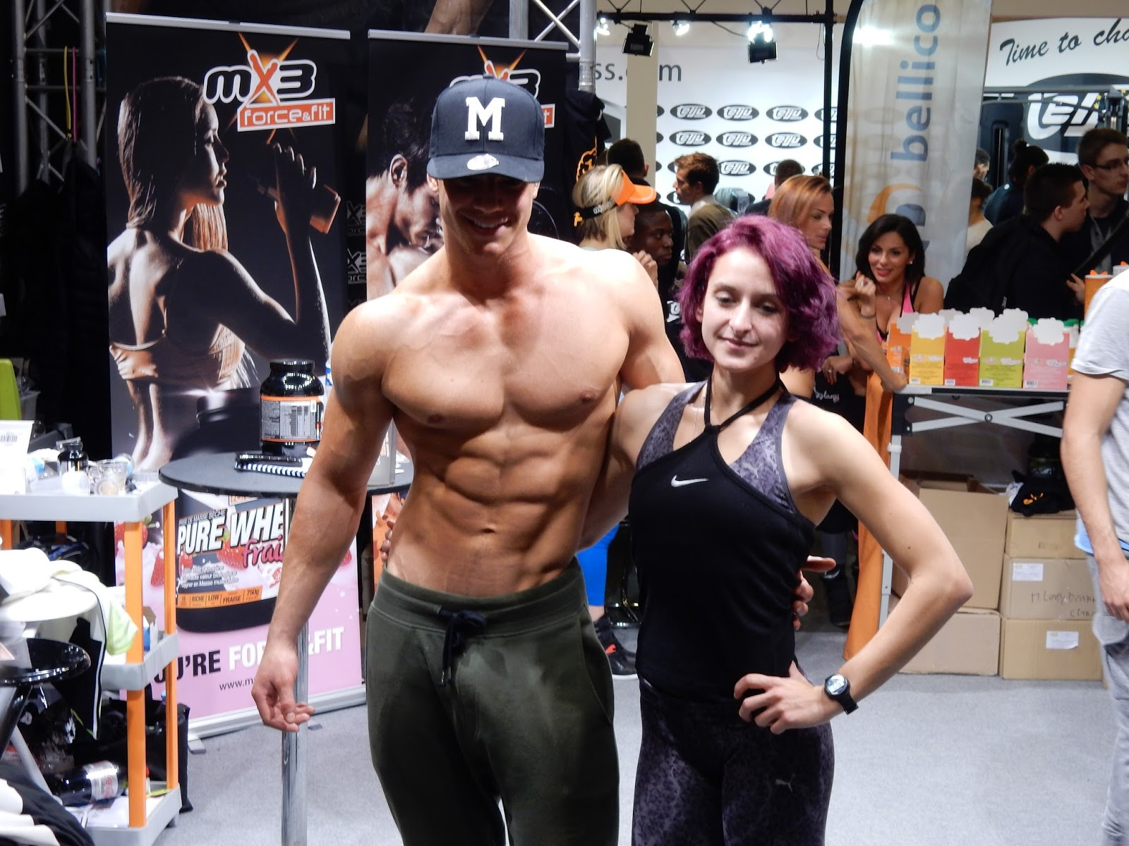 Gr gory capra au salon mondial body fitness 2016 garde for Salon body fitness
