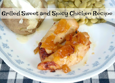 Grilled Sweet and Spicy Chicken Recipe