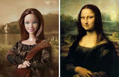 Mona Lisa Y barbie