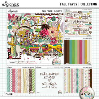 Fall Faves Collection by Akizo Designs