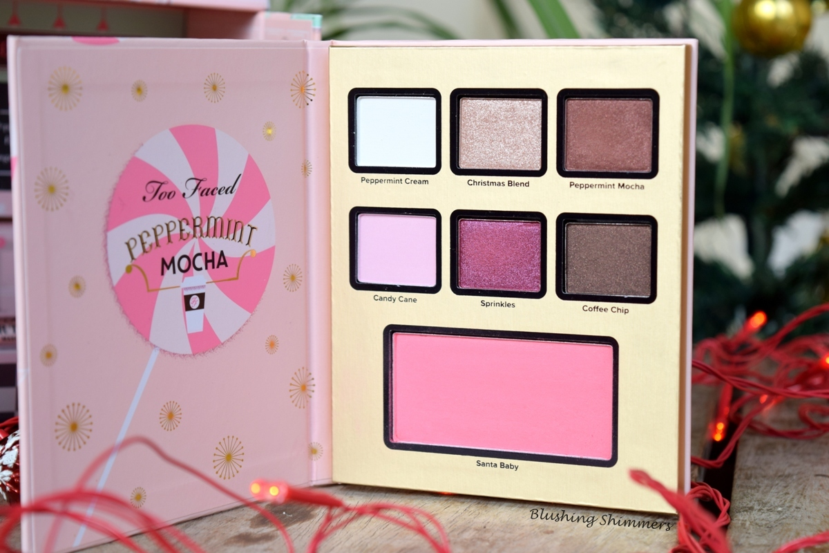 Too Faced Grand Hotel Cafe:Pepermint mocha