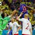 Em partida empolgante, Colômbia faz 3 a 0, reage na Copa do Mundo e elimina Polônia