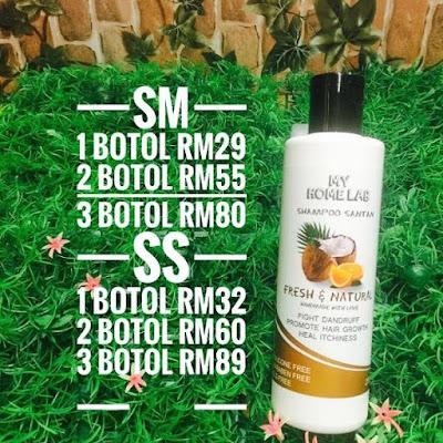 Shampoo Santan Tips Rambut