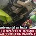 Mueren cuatro españoles en un accidente de tráfico en la India