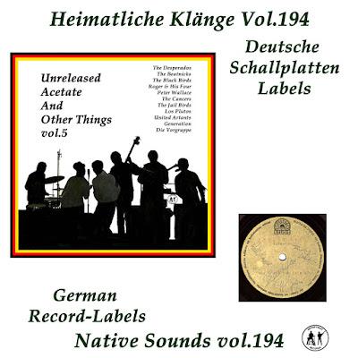 Unreleased Acetate Vol 5 (Heimatliche Klaenge Vol.194)