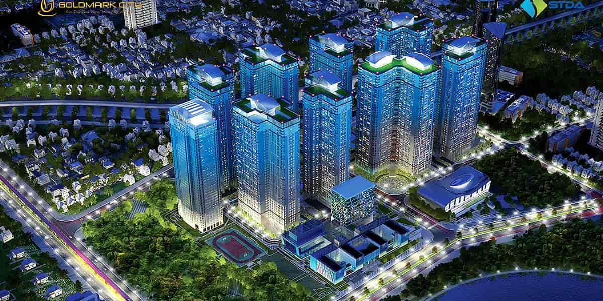 Kết quả hình ảnh cho dự án Goldmark City