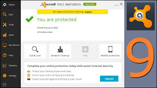 Avast Free Antivirus 9