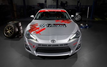 Wallpaper: Toyota 86 Pro-Am
