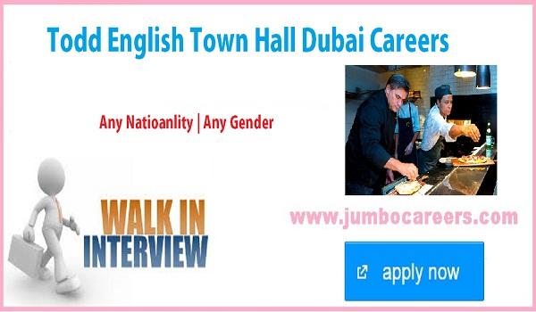 Direct walk in interview jobs in Dubai, Dubai restaurant jobs
