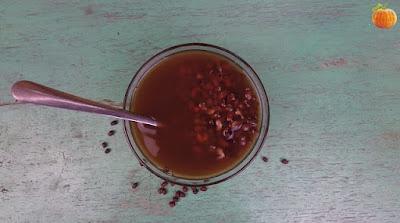 Chè đậu đỏ vani