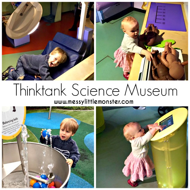 Thinktank science museum Birmingham review