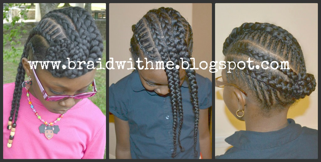 Incredible Braid With Me Protective Style Intricate Cornrows With Bangs On Short Hairstyles Gunalazisus