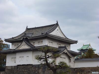 櫓と大阪城