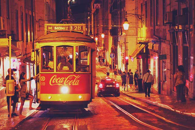 Lisbon Streetcars.