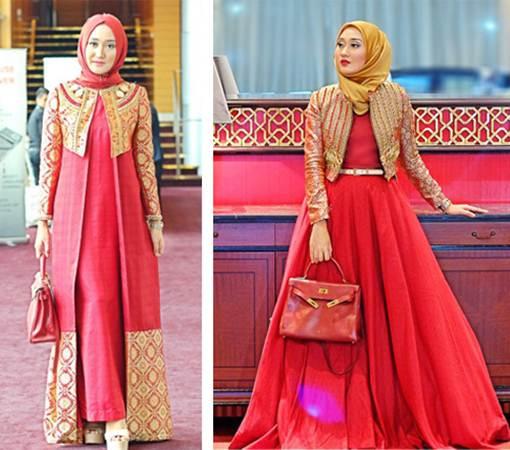 Model Baju Lebaran Dian Pelangi Gambar Islami