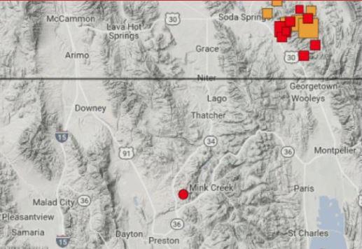 Gempa Hari ini: Idaho Diguncang Gempa Berkekuatan 5,2 SR