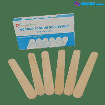Tounge Spatel Kayu (Wooden Tongue Depressor)
