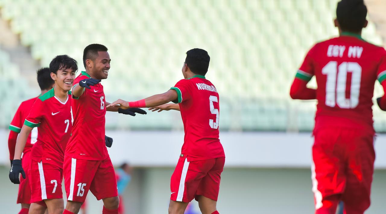 Tim nasional U-19 Indonesia Bercokol di Pucuk, Taiwan serta Qatar Merana
