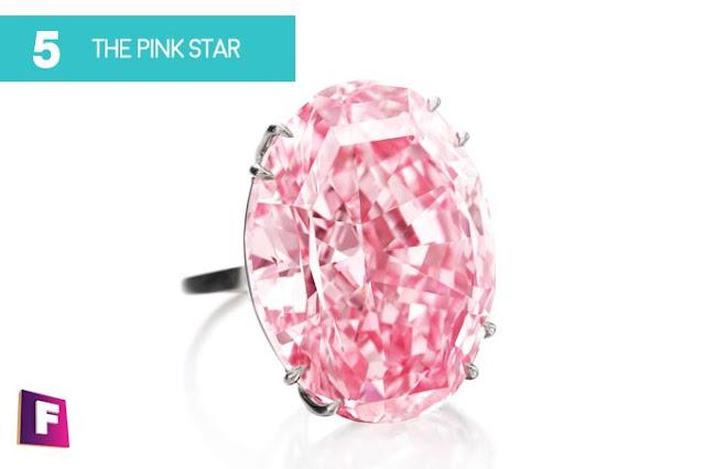 diamantes mas caros del mundo  | puesto 5 pink star diamond - foro de minerales