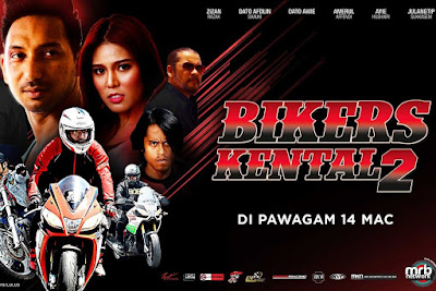 Bikers Kental 2, Filem Melayu, Malay Movie, Movie, Movie Bikers Kental 2, Filem Bikers Kental 2, Sinopsis Bikers Kental 2, Pelakon Filem Bikers Kental 2, Zizan Razak, Dato Awie, Dato Afdlin Shauki, Bront Palarae, Amerul Affendi, Ayie Hushairi, Julangtip Sukkasem, Korravee Pimsuk, Peerasak Reabroy, Filem Melayu 2019, Malay Movie 2019, Poster Filem Bikers Kental 2,