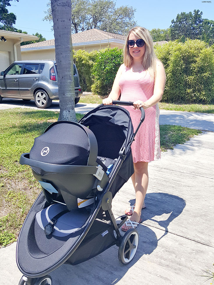 The CYBEX Agis Travel system provides the safety all parents are looking for with a sleek, easy to use design!