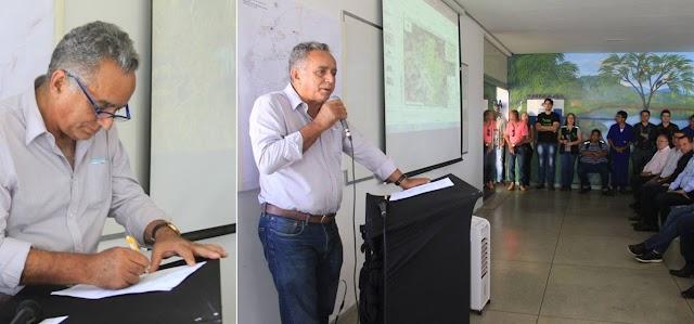 Senador Canedo: Evento marca lançamento do Programa Produtor de Água