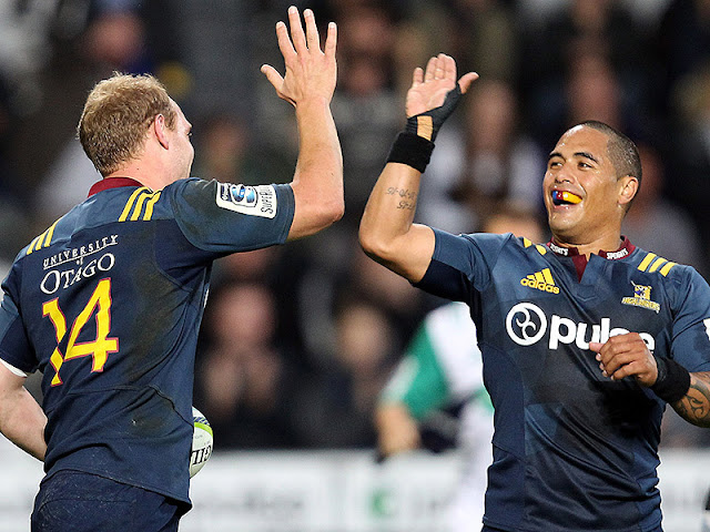 Highlanders beat Lions in Super Rugby
