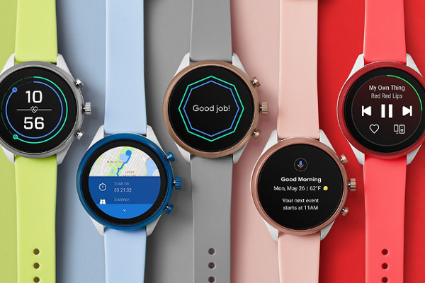 Fossil Sport smartwatch with Snapdragon Wear 3100, Heart-rate tracking, Wear OS, NFC and GPS announced