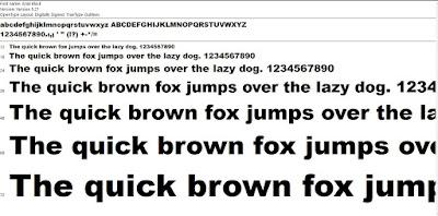 Cara Menambahkan Font di Photosop, Corel Draw, Microsoft Office
