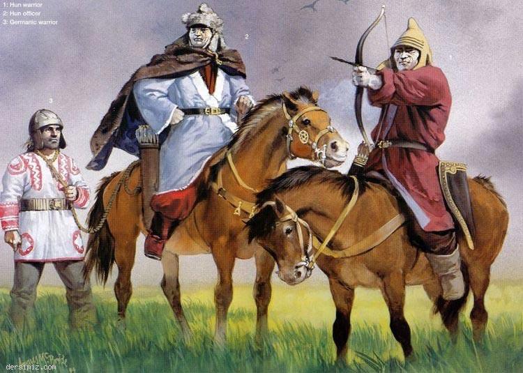 Batı Hun İmparatoru Attila'dan Öğütler