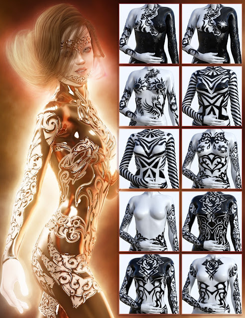 Jepe's Body Jewels 2 for Daz Studio