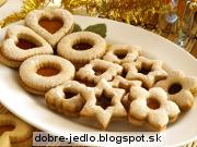 Vianočné citrónové pečivo - recept