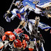 "Custom Build: 1/100 Gundam Maxter and Rose Gundam ""Roses Magnum Hurricane !!"""