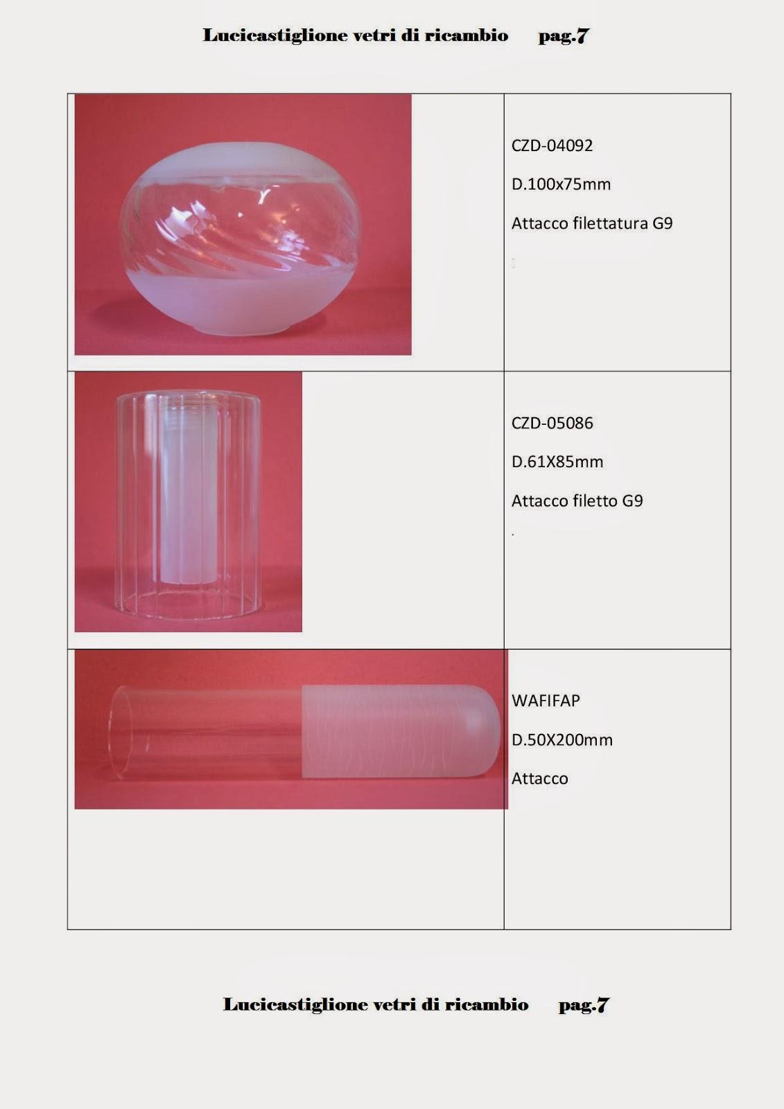 ricambi lampadari vetro : Ricambi per lampadari in vetro di Murano: Catalogo ricambi in vetro ...