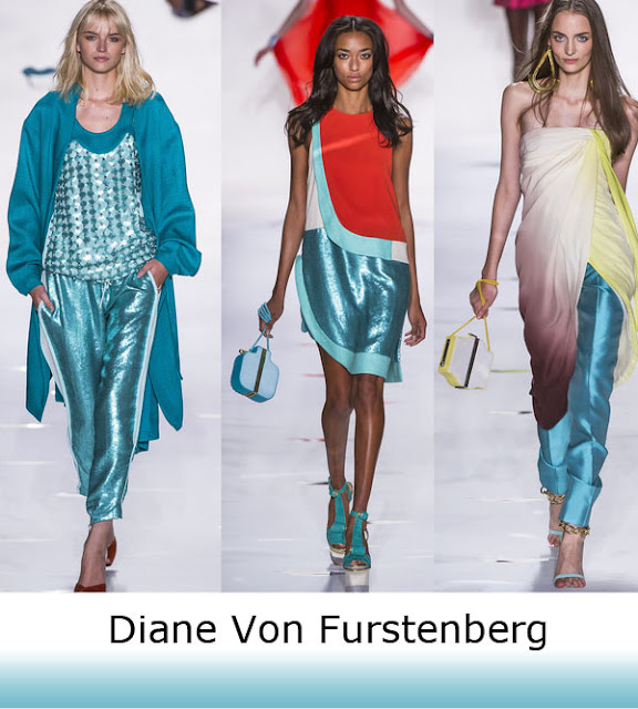 Spring Trend 2013 Diane Von Fursterberg Metallic