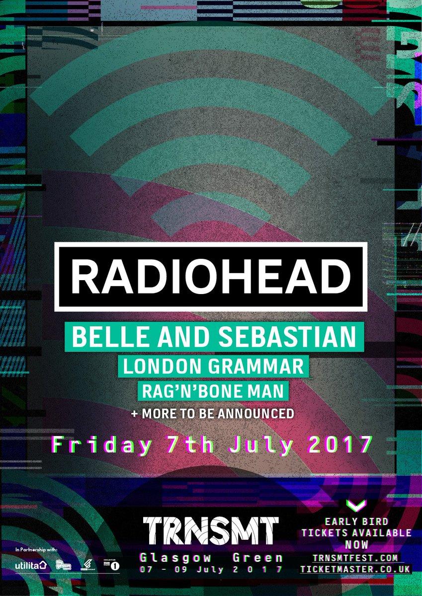 Radiohead Bootlegs Radiohead 2017 07 07 Trnsmt Festival Mp3 At 320 Mg