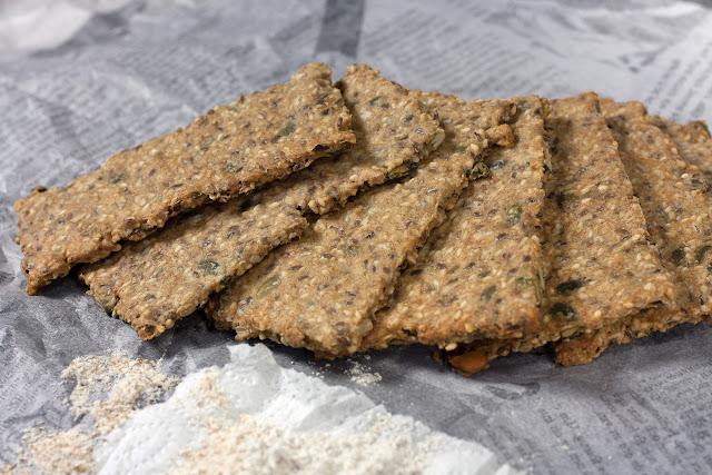 Slani krekeri sa sjemenkama