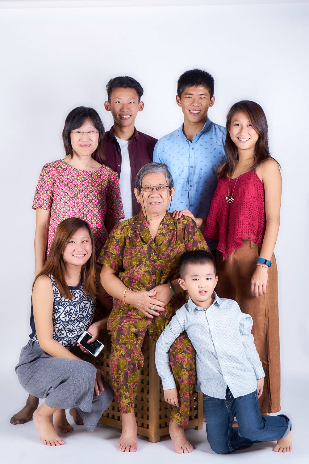 family studio shoot w weikiat
