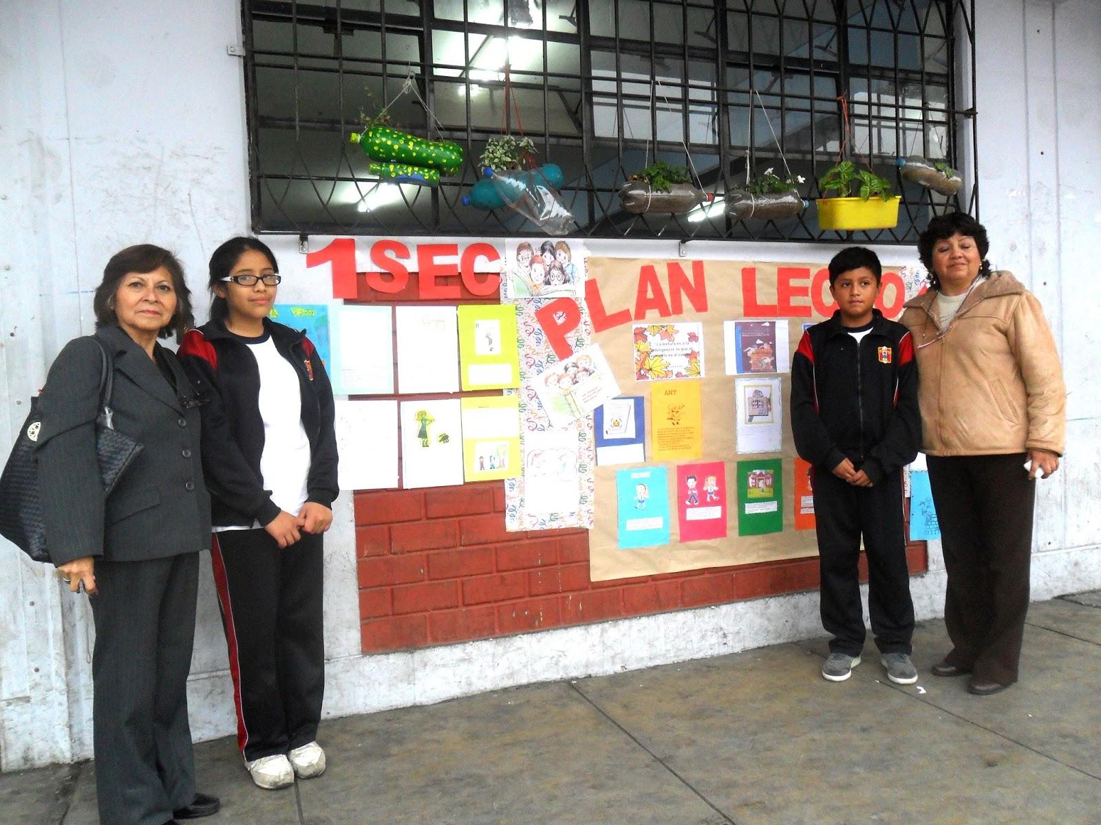 I E Quot Jos 201 Antonio Encinas Quot Santa Anita Plan Lector 2015