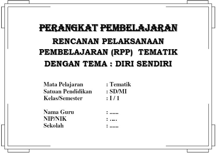 Donwload RPP dan Silabus KTSP SD Kelas 1 - 6