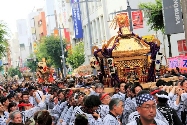Mikoshi Togyo (float parade), Urawa, Saitama