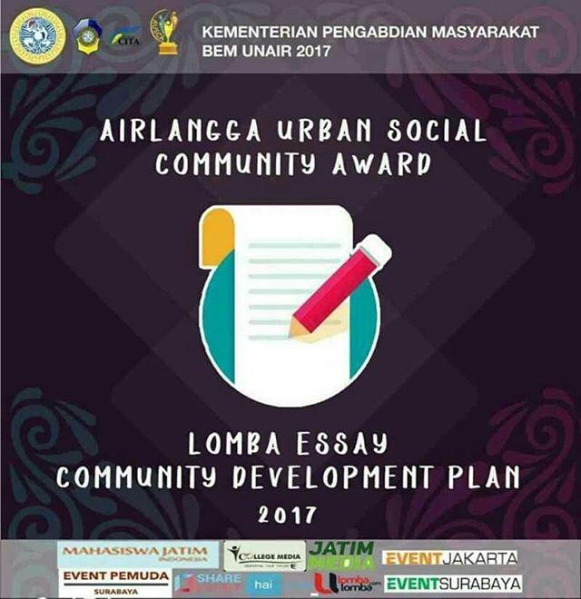 Lomba Essay Community Development Plan 2017 Untuk Mahasiswa