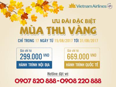 Khuyến mãi Mùa Thu Vàng 2017: Vé đi Singapore khứ hồi 49 USD