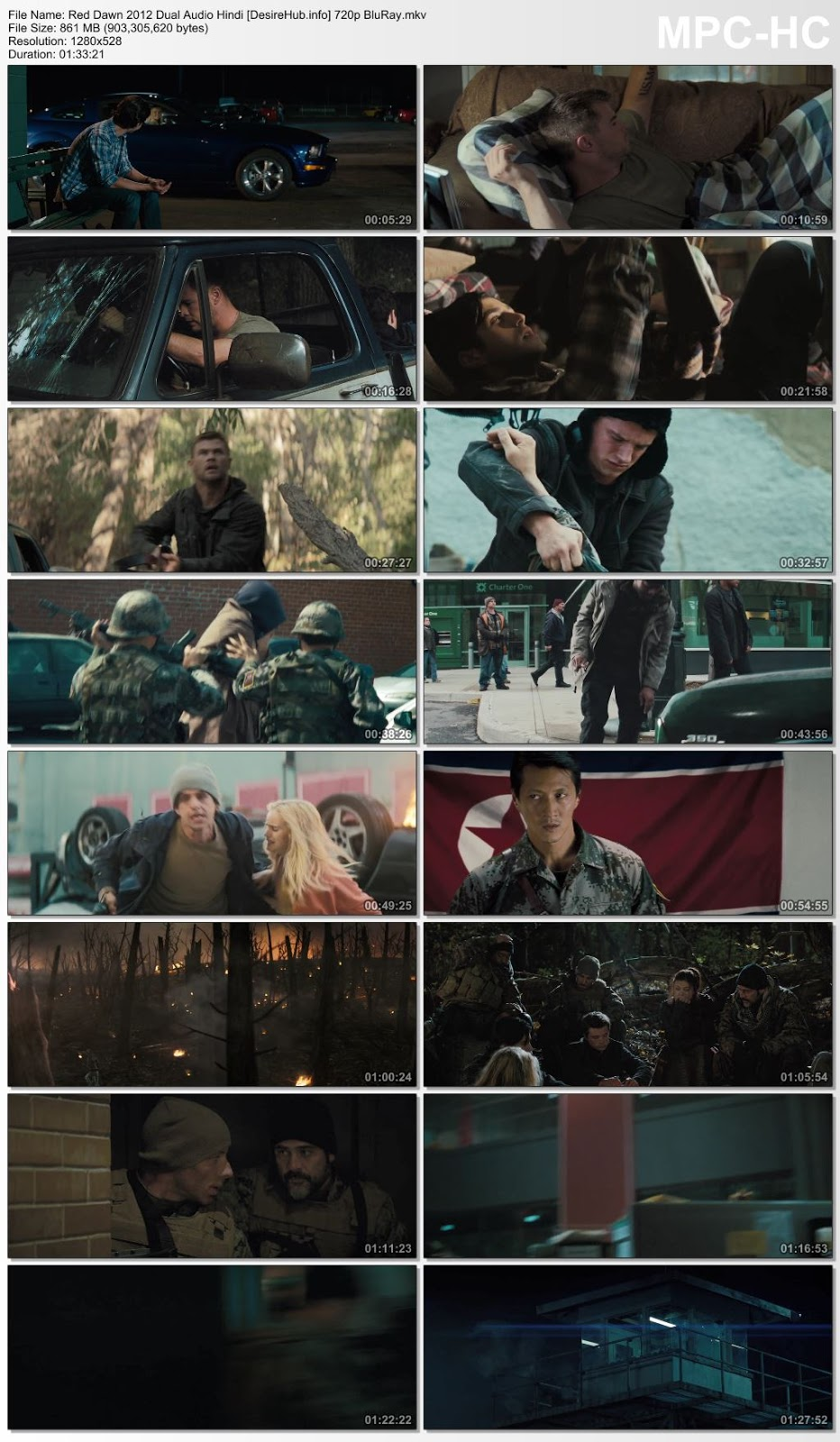 Red Dawn 2012 Dual Audio Hindi 480p BluRay 300MB Desirehub