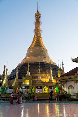 Pagode Kyaik Than Lan - Mawlamyine - Birmanie - Myanmar