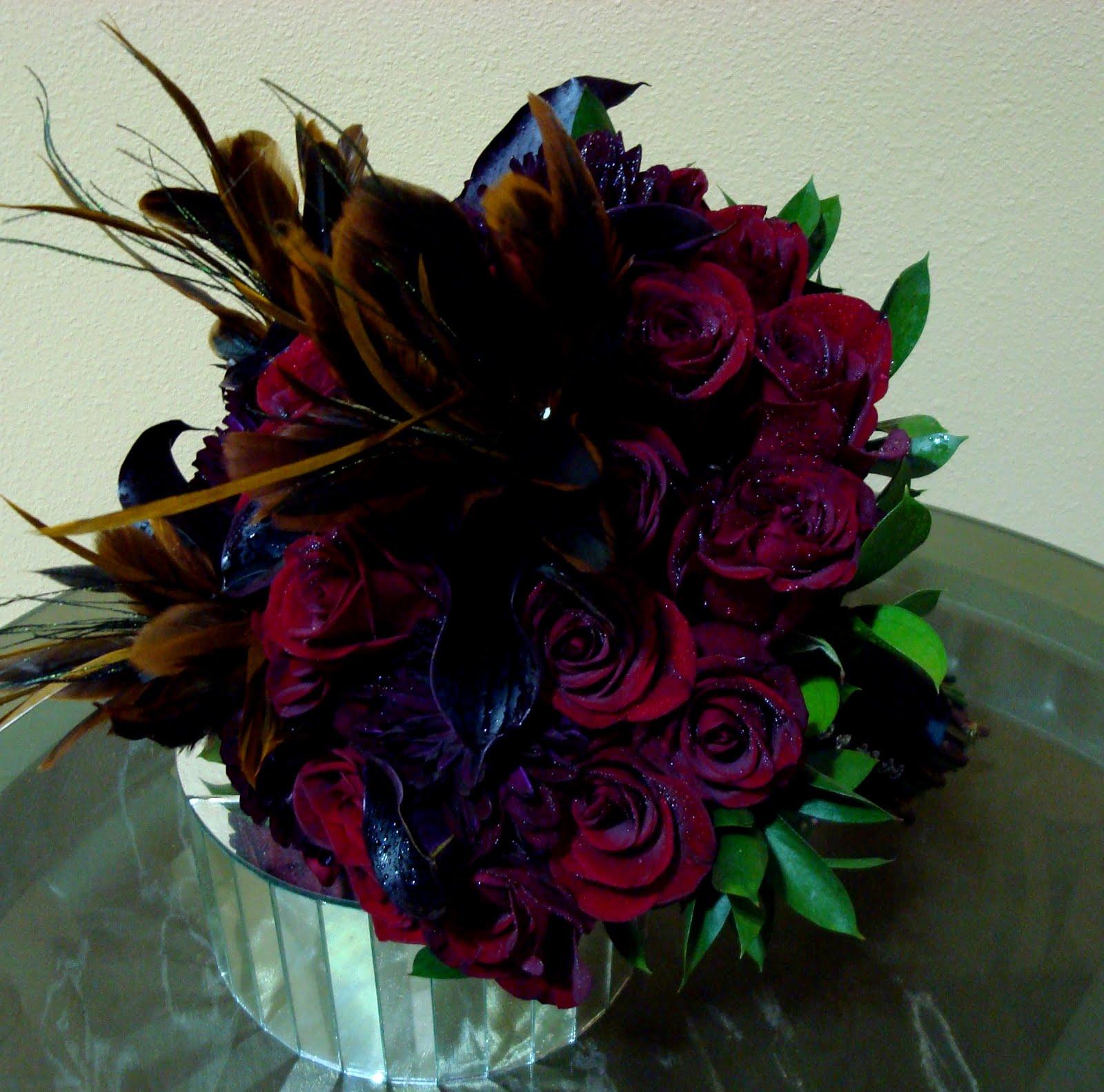 Halloween Wedding Bouquets